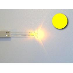 Amber flat top led (high bright)