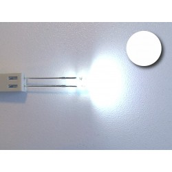Led redondo blanco (alto brillo)