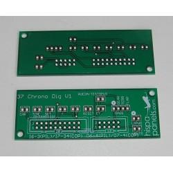 B737 PCB para reloj/cronómetro (versión digital)