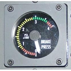 B737 Presión de frenos