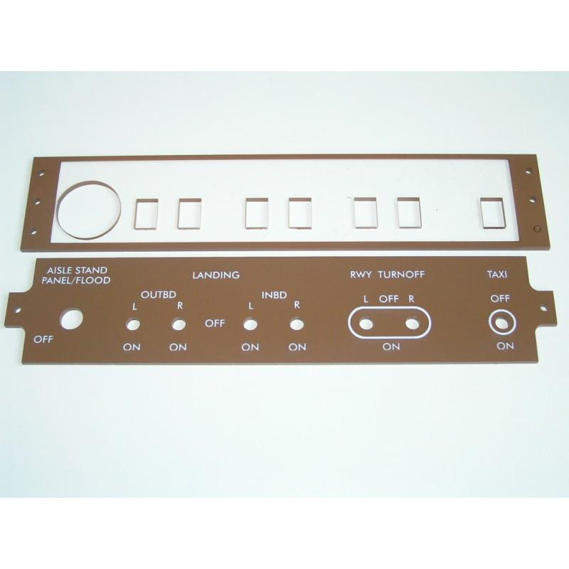 B747 luces externas hispapanels - Extern panel ...