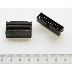 IDC connector for flat cable 20 pins