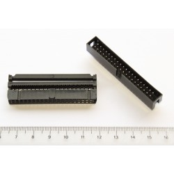 IDC connector for flat cable 40 pins