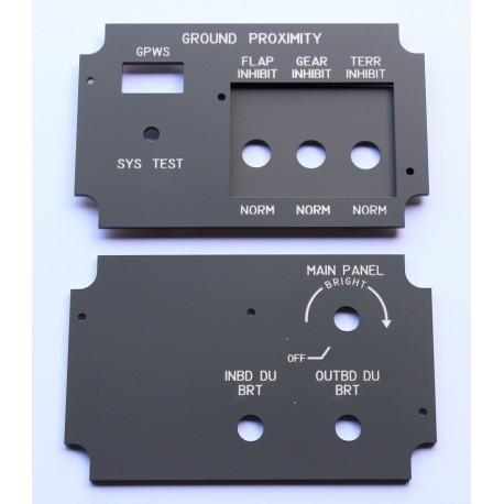 Display brightness control DBC and GPWS (copilot)
