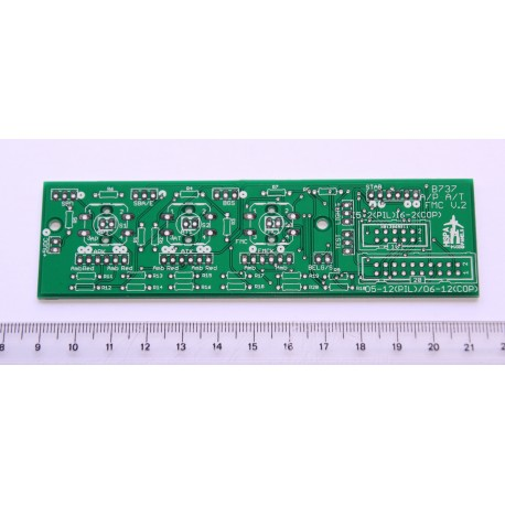B737 PCB for A/P A/T FMC alerts