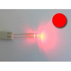 Led cilindrico rojo (alto brillo)