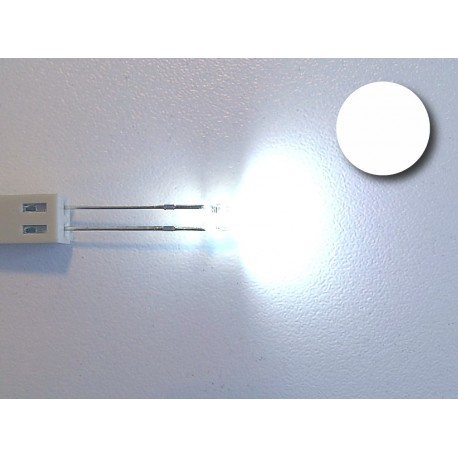 White flat top led (high bright)