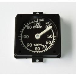 EC135 Airspeed gauge
