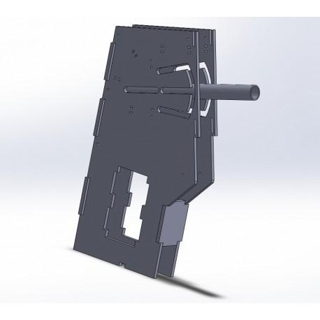 B737 Gear lever module