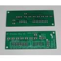 B737 PCB para reloj/cronómetro (versión digital) (v 1)
