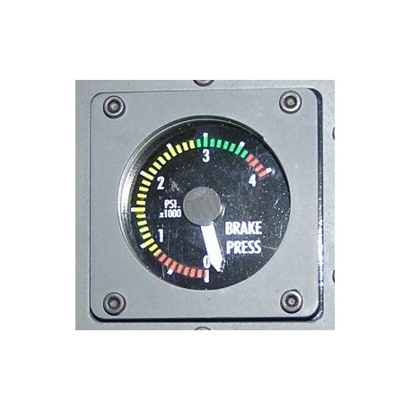 B737 Brakes pressure