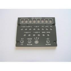 B737 Audio panel