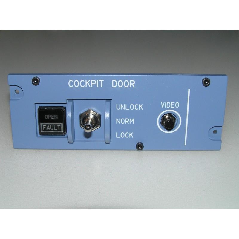A320 Cockpit door - Hispapanels