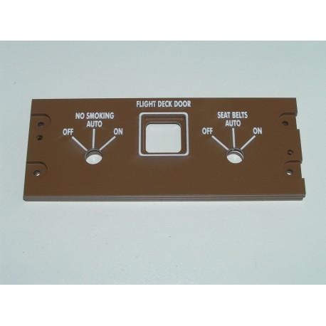 B747 Puerta piloto y señales