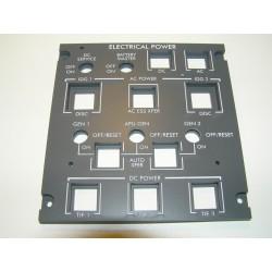 CRJ200 Electrical panel