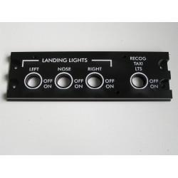 CRJ200/700 Landing lights