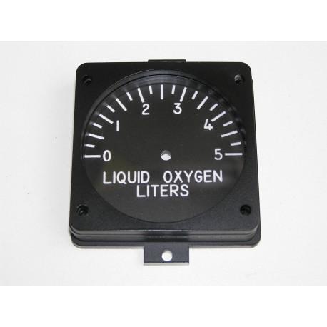 F-16 Indicador oxígeno liquido