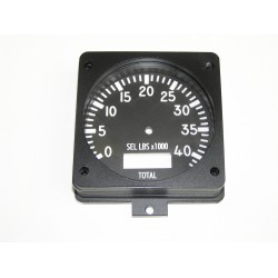 F-16 Fuel qty gauge