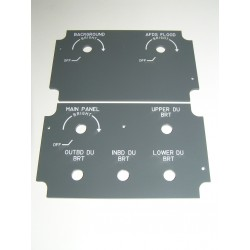 B737 Control de brillo de pantallas DBC (piloto)