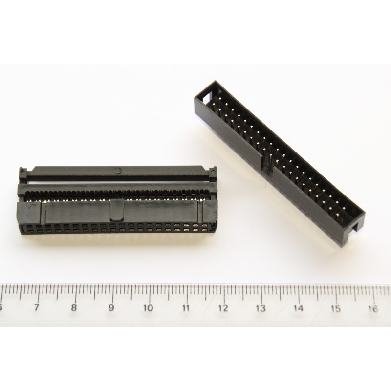 Idc Connector For Flat Cable 40 Pins Hispapanels