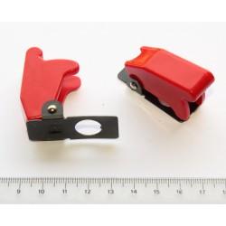 Guarda roja para interruptor grande